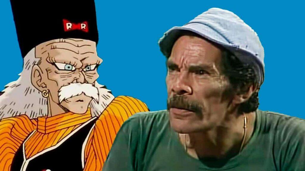 Don Ramón y el Dr. Maki Gero, parecido